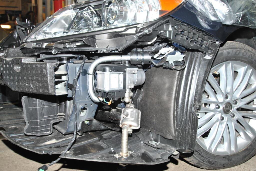 Webasto на Lexus ES350